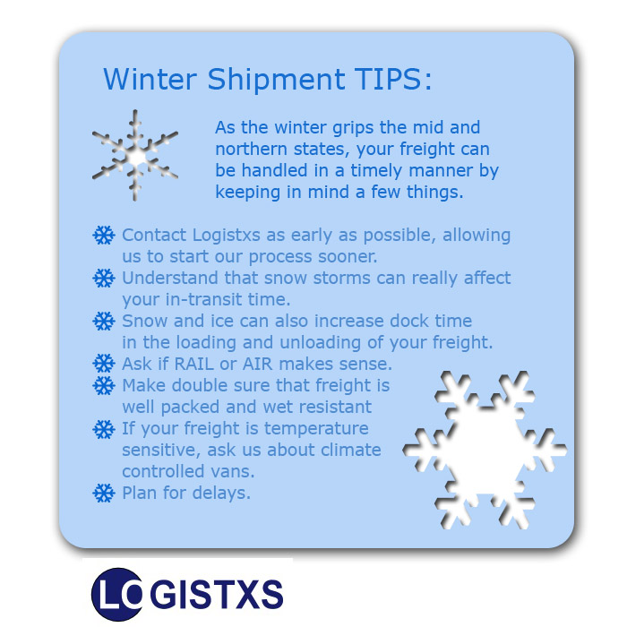 Winter Shipping Tips